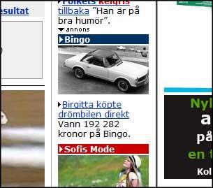 Dold reklam, Aftonbladet