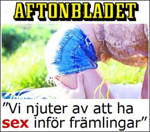 Dogging, Sex, Aftonbladet