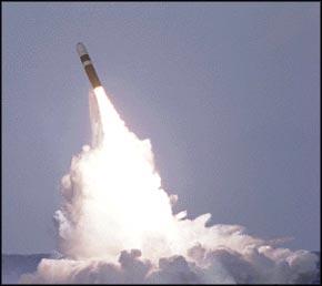 Usa missil hamnade pa kuba