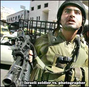 Soldat skot obevapnad palestinier
