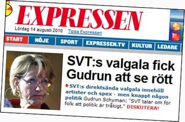 Schyman, SVT