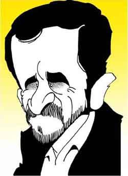 Mahmoud Ahmadinejad, Iran